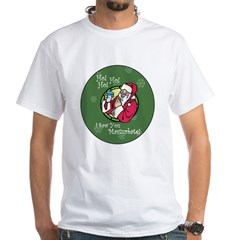 Santa Saw You Masturbate Shirt