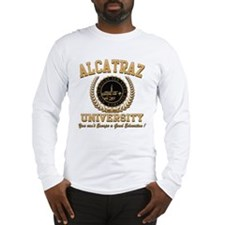 ALCATRAZ UNIVERSITY Long Sleeve T-Shirt