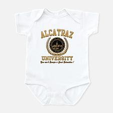 ALCATRAZ UNIVERSITY Infant Bodysuit