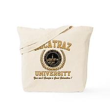 ALCATRAZ UNIVERSITY Tote Bag