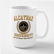 ALCATRAZ UNIVERSITY Large Mug