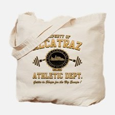 ALCATRAZ ATHLETIC DEPT. Tote Bag