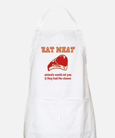 Eat Meat Apron