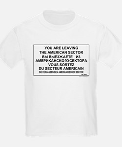 Leaving The American Sector T-Shirt