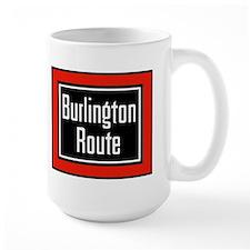 Burlington Route Mug