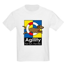 Agility For Fun For Life Kids T-Shirt