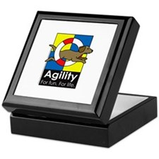 Agility For Fun For Life Keepsake Box