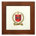 OUELETTE Family Crest Framed Tile