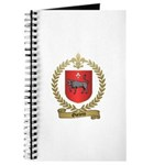 OUELETTE Family Crest Journal