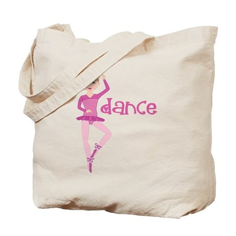 Pink Dance Ballet Tote Bag