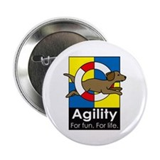 """Agility For Fun 2.25"""" Button (10 pack)"""