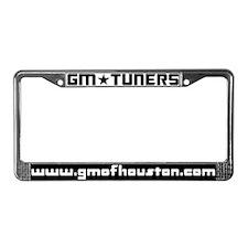 GMOH Black and White License Plate Frame