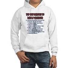 Wrestling Top Ten Date Reasons Hoodie