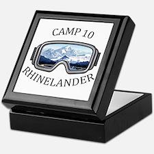 Camp 10 - Rhinelander - Wisconsin Keepsake Box