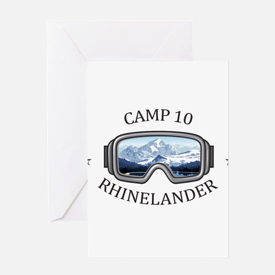 Camp 10 - Rhinelander - Wisconsin Greeting Cards