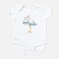 January Stork Infant Bodysuit