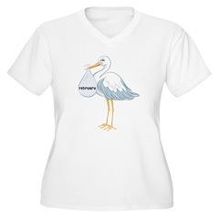 February Stork T-Shirt