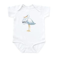 April Stork Infant Bodysuit