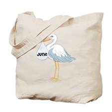 June Stork Tote Bag