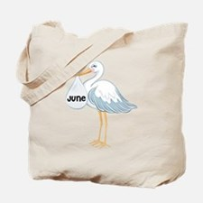 June Stork Tote Bag