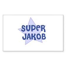 Super Jakob Rectangle Decal