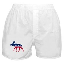 Sarah Palin Moose Boxer Shorts