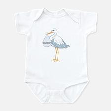 December Stork Infant Bodysuit