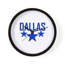 Cute Dallas cowboy Wall Clock