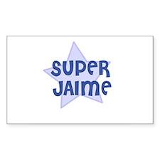 Super Jaime Rectangle Decal
