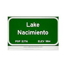Lake Nacimiento Rectangle Magnet