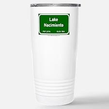 Lake Nacimiento Stainless Steel Travel Mug