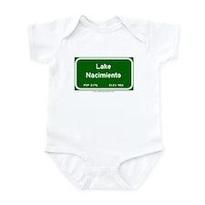 Lake Nacimiento Infant Bodysuit