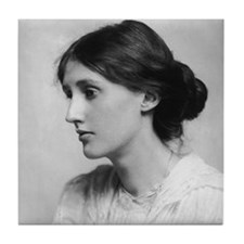The First Virginia Woolf Tile Coaster