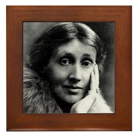 Virginia Woolf (older version) Framed Tile