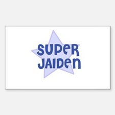Super Jaiden Rectangle Decal
