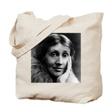 2 Faces of Virginia Woolf Tote Bag