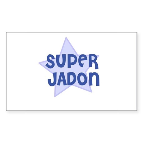 Super Jadon Rectangle Sticker