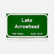 Lake Arrowhead Rectangle Magnet (10 pack)
