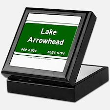 Lake Arrowhead Keepsake Box