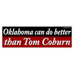 Tom Coburn bumper sticker