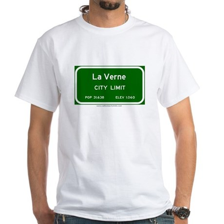 La Verne White T-Shirt