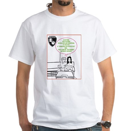 CAN THEY BE RETURNED T-Shirt