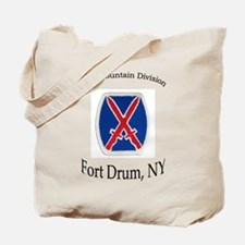 10TH MOUNTIAN DIV Tote Bag