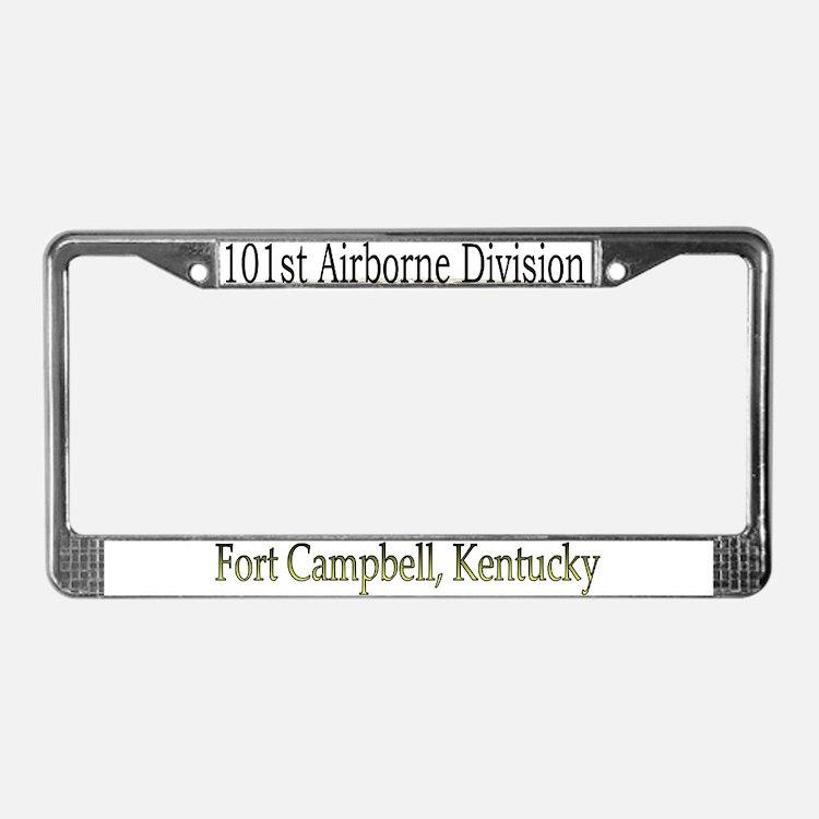 101ST ABN DIV License Plate Frame