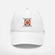 Support Your Fire Department Baseball Baseball Cap