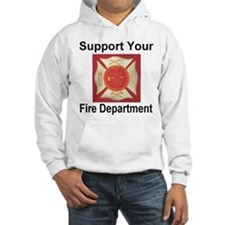 Support Your Fire Department Hoodie