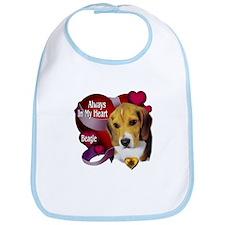 Beagle_Always In My Heart Bib