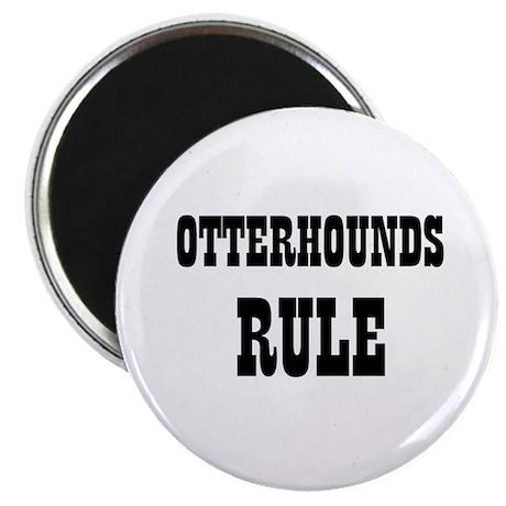 "OTTERHOUNDS RULE 2.25"" Magnet (10 pack)"