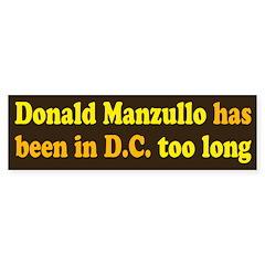 Donald Manzullo Bumper Bumper Sticker