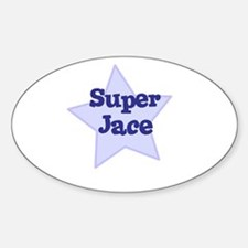 Super Jace Oval Decal